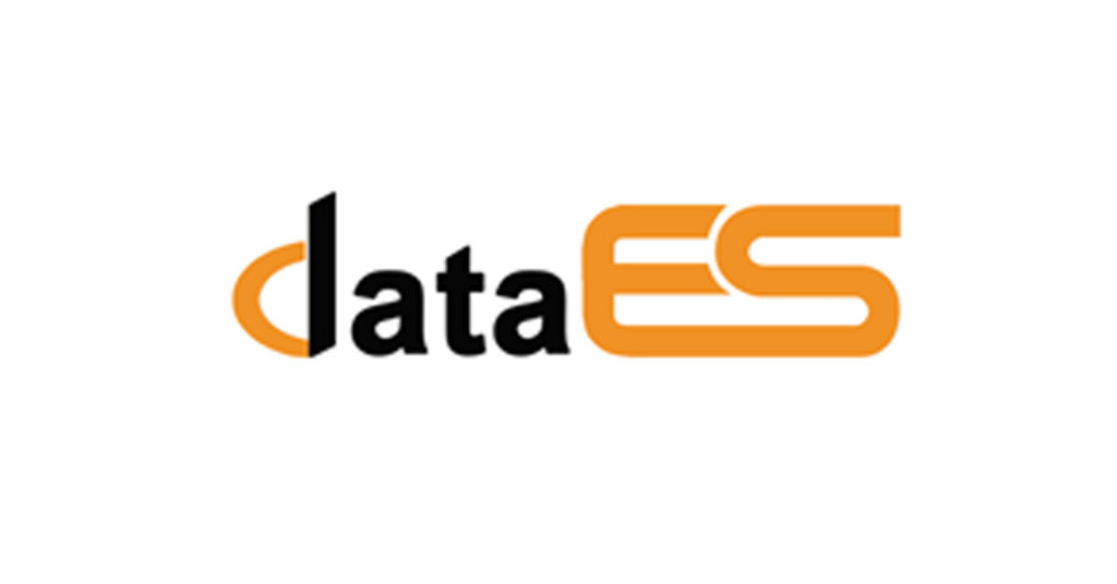 logo design for data es software training institute